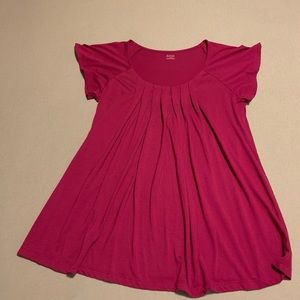 Ana pleated front tunic